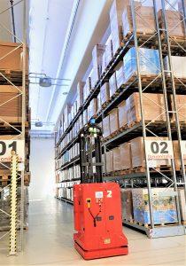 magazzini automatici compattabili con carrello AGV/LGVDEXX