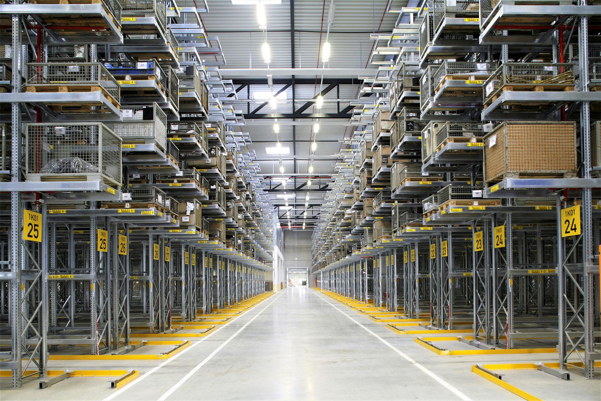 Scaffalature industriali Dexion Italia