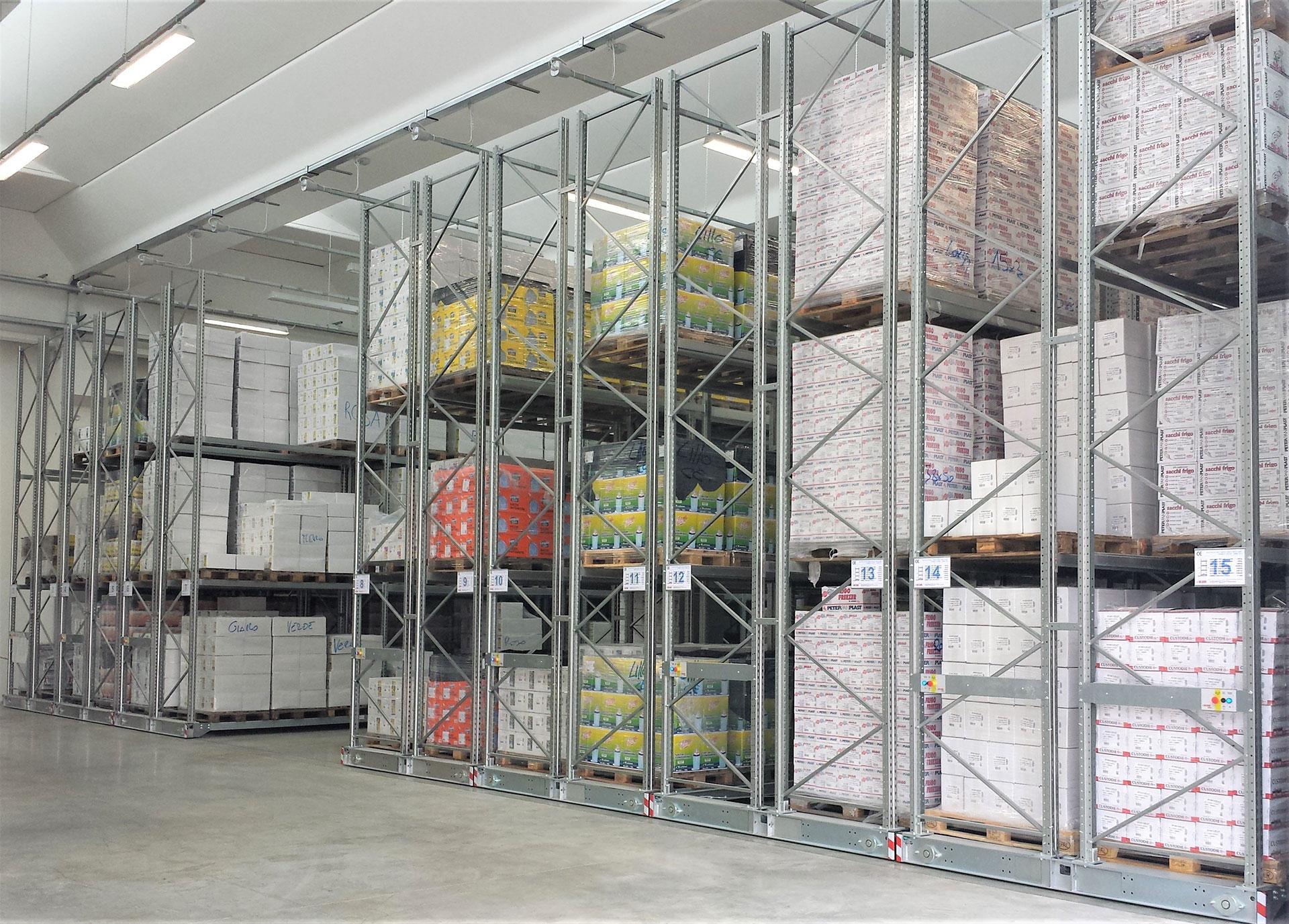 magazzino automatizzato portapallet