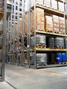magazzini compattabili contenitori di cisterne